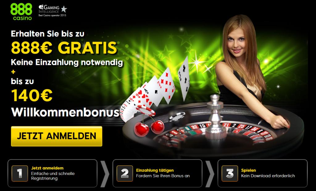 888 Casino Erfahrung